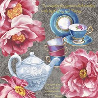 Tea Eloquence Fine Art Print
