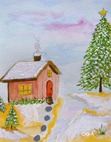 Christmas is Cozy Fine Art Print