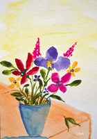Mixed Flowers Fine Art Print
