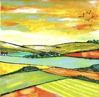 The Scottish Citrus Fields Fine Art Print
