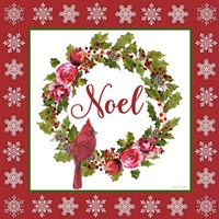 Noel Wreath Fine Art Print