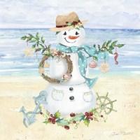 Coastal Christmas F Fine Art Print