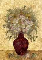 Vase With Flowers Fine Art Print