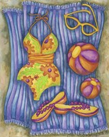 Bathing Suits With Balls Fine Art Print