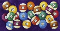 Billiard Balls Fine Art Print
