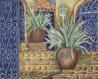 California Pots Agave Fine Art Print