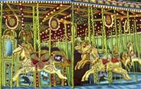 Carousel Esther Sam Sally Fine Art Print