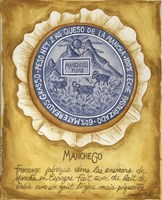 Cheese Manchego Fine Art Print