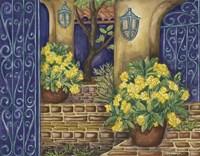 California Pots Yellow Fine Art Print