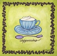 Coffees Cappuccino Fine Art Print