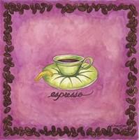 Coffees Espresso Fine Art Print