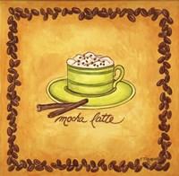 Coffees Mocha Latte Fine Art Print