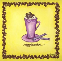 Coffees Mochaccino Fine Art Print