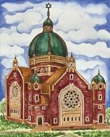 Synagogue Katowice Exterior Fine Art Print