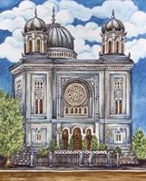 Synagogue Nuremburg Exterior Fine Art Print