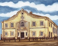 Synagogue Telz Exterior Fine Art Print