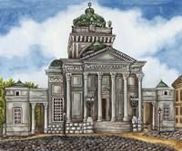 Synagogue Warsaw Exterior Fine Art Print