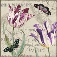 Vintage Flowers I Fine Art Print