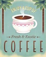 Coffee Exotic Fine Art Print