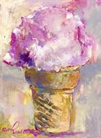 Ice Cream Cone Fine Art Print