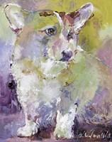 Art Corgi Fine Art Print