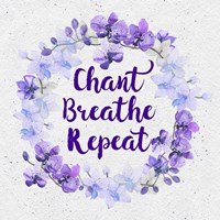 Bhakti-Chant Breathe Repeat Fine Art Print
