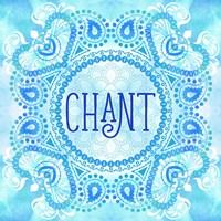 Bhakti-Chant Mandala Fine Art Print