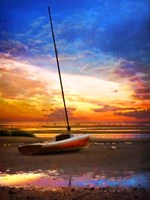 Cape-Sunset Sail Fine Art Print