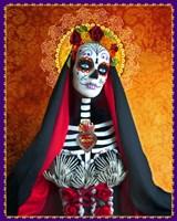 DOD-Santa Muerte Framed Print