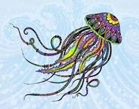 Electric Jellyfish Fine Art Print