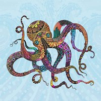 Electric Octopus Fine Art Print