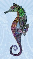 Electric Seahorse-Boy Fine Art Print