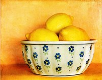 StillLife-Bowl of Lemons Fine Art Print