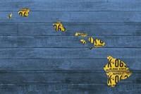 New Hawaii Map Fine Art Print