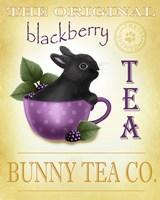 Blackberry Tea Bunny Fine Art Print