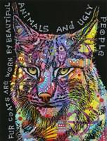 Psychedelic Bobcat Fine Art Print