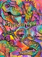 Dino - Might Fine Art Print