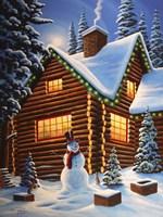 Cozy Christmas Fine Art Print