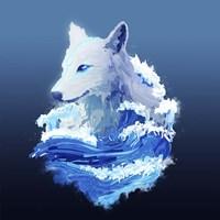 Wolf Wave Fine Art Print