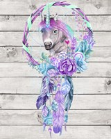 Unicorn Dream Catcher Fine Art Print