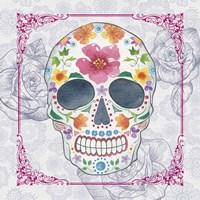 Deco Skull Fine Art Print
