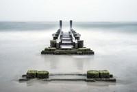 Fog On Pier 3 Fine Art Print
