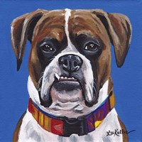 Boxer Blue Fine Art Print