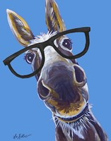 Donkey Snickers Glasses Fine Art Print