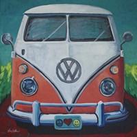 Volkswagen Van Bohemian Dream Fine Art Print