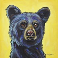 Black Bear Bernard Fine Art Print