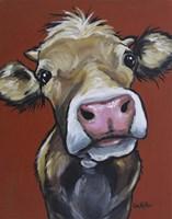 Cow Hazel Fine Art Print