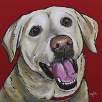Lab Marley Yellow Labrador Fine Art Print