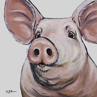 Pig Mildred Fine Art Print