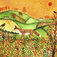Autumn Fields Fine Art Print
